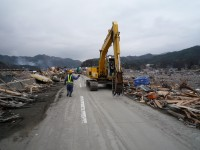 遠野支部 応急復旧活動 道路の通行確保