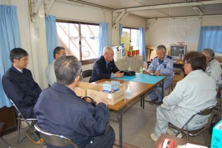会長団・専務が沿岸部関係機関訪問