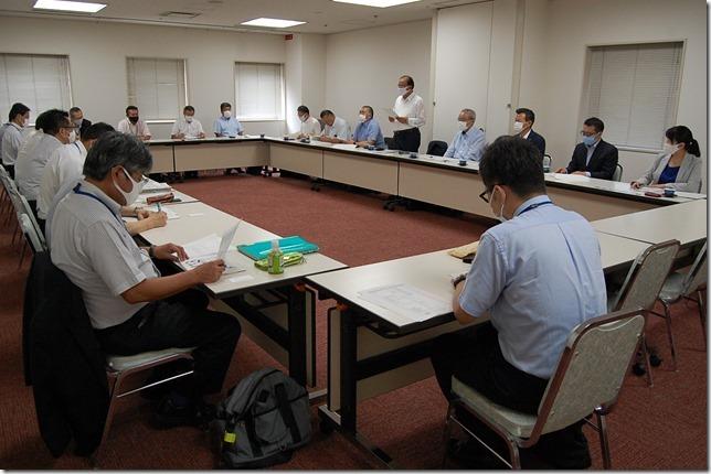 【写真1】 建設業地域懇談会(R2.8.31)