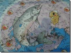 鮭稚魚放流3