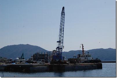 ①大沢漁港の復旧工事13.03.30