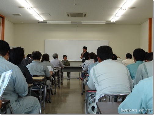 H290706簗川ダム視察研修2(概要説明)