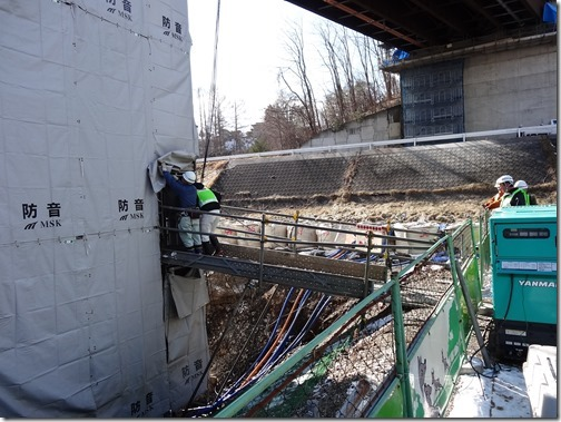 橋梁補強工事