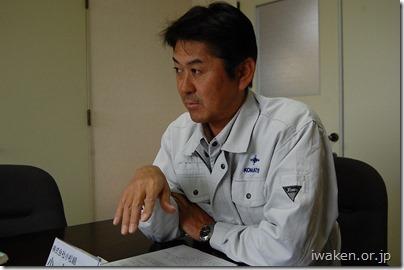 小松組(大船渡市)代表取締役 小松 格 さん