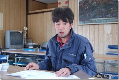 工藤建設(株) 土木部技士 西倉淳也さん