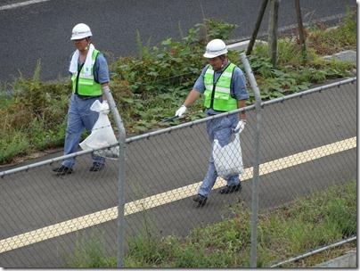 活動空の日県道清掃 029