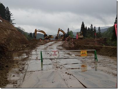 道路改築工事2