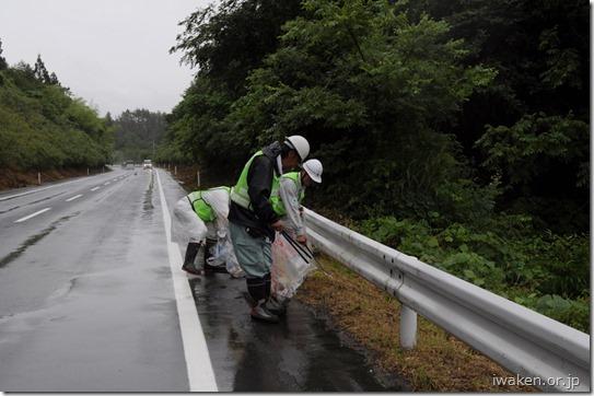 道路ゴミ拾い