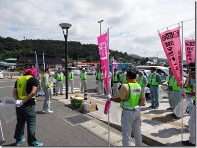 道の日イベント 開会式 道の駅かわさき