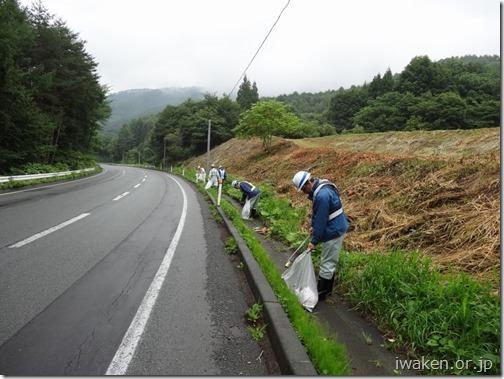 H28.7.28 B級会道路清掃0012