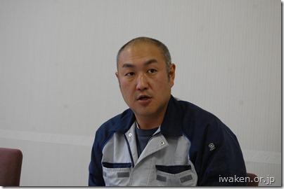 (株)晴山石材建設 上川 寿隆さん
