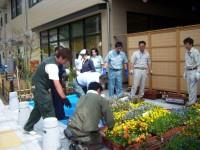 080710花のポケットパークつくり土風館 (8).JPG