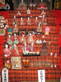 明治末期の雛人形